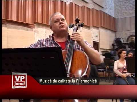 Muzică de calitate la Filarmonică