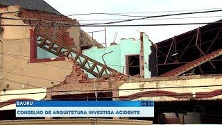 Conselho de Arquitetura investiga acidente que matou pedestre em Bauru