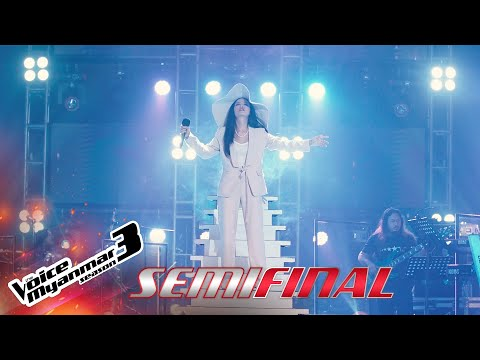 "Pan : ""Skyfall"" | Semi Final - The Voice Myanmar Season 3, 2020"