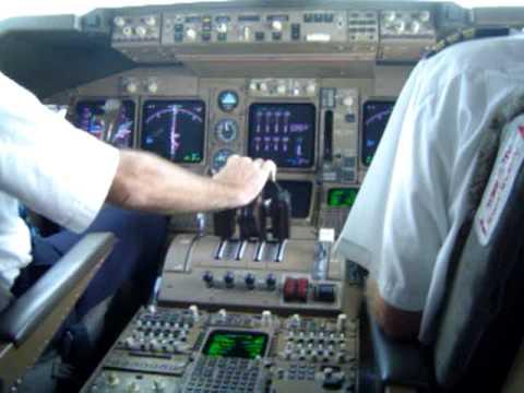 Take-off from Kuala Lumpur in Boeing 747