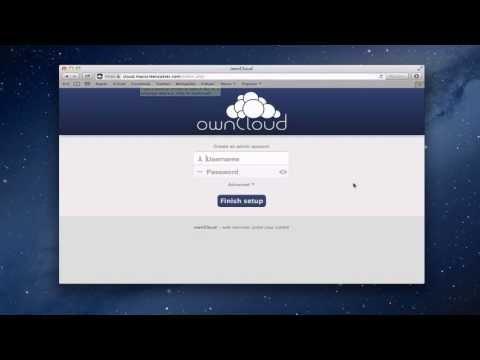 comment installer owncloud server