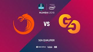 TNC Predator vs  Genuine Gaming, ESL One Mumbai SEA Quals, bo3, game 2 [Lex & Mortalles]