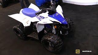 5. 2018 Yamaha YFZ50 Youth Sport ATV - Walkaround - 2017 Toronto Snowmobile ATV Show