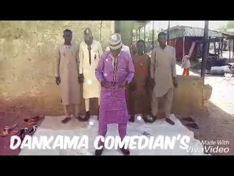 MUSHA DARIYA COMEDIAN'S tareda Ali artwork sabon comedy