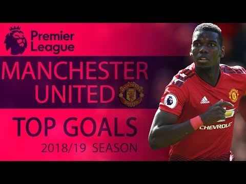 Manchester United's Top Goals From The 2018-2019 Premier League Season | NBC Sports