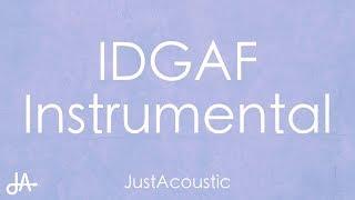 Video IDGAF - Dua Lipa (Acoustic Instrumental) MP3, 3GP, MP4, WEBM, AVI, FLV Maret 2018