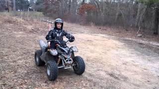 8. ATv Cheap Mods 90cc part 11 son rides to show speed