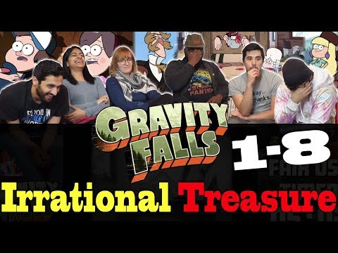 Gravity Falls - 1x8 Irrational Treasure - Group Reaction