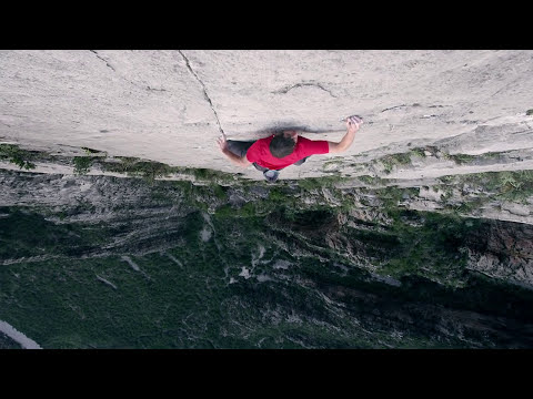 Don't watch this video if you're afraid of heights, Alex Honnold, El Sendero Luminoso, rock climbing, outdoors