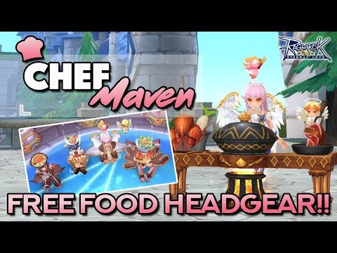 HOW TO UNLOCK FREE FOOD HEADGEAR + 5-STAR FOOD RECIPES | Ragnarok Mobile Eternal Love