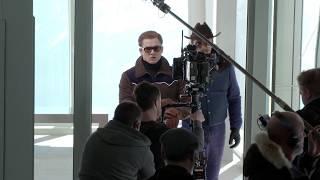 1分間に30回転!超高速ゴンドラで俳優がぶん回される/映画『キングスマン:ゴールデン・サークル』メイキング映像