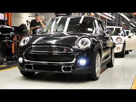 production - Watch the birth of the new 2014 Mini from start to finish. http://www.testdriven.co.uk/2014-mini-photos-prices/ 0:00 Pressing Plant 1:54 Body Construction 5:...