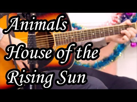 Animals - House of rising sun cover (Acoustic songs by Sergio)