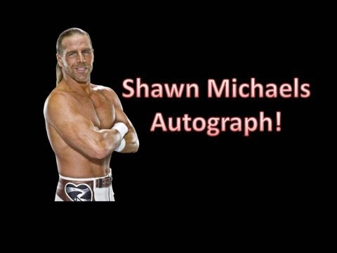 MRA VIP Package - Shawn Michaels Autograph and More!