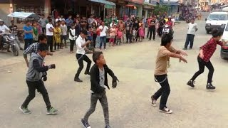 Video Jaalma (Resham Filili) Dance performance in Flash Mob Dhading Bensi Chowk MP3, 3GP, MP4, WEBM, AVI, FLV Juni 2019