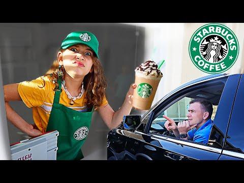 We OPENED Our Own STARBUCKS At Home! | JKrew