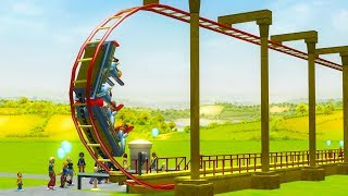 Video I Built a Roller Coaster That Goes 350,000 MPH - RollerCoaster Tycoon 3 MP3, 3GP, MP4, WEBM, AVI, FLV Juli 2019