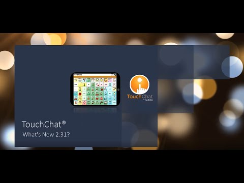 Thumbnail image for video titled 'TouchChat: What's New 2:31'