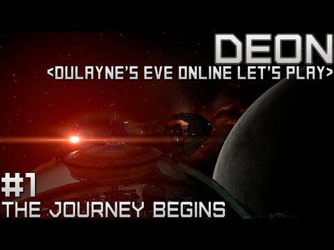Lets Play EVE Online – Starting out (Tutorial Gameplay)