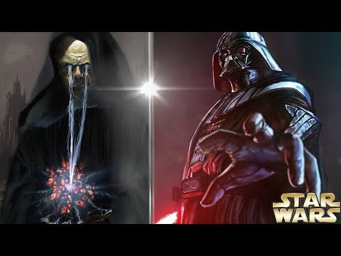 How Darth Plagueis Had a Terrifying Vision of Darth Vader - Star Wars Explained