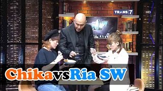 Video CHIKA vs RIA SW Lomba Makan Mie Setan • HITAM PUTIH 9 JUNI 2017 MP3, 3GP, MP4, WEBM, AVI, FLV April 2019
