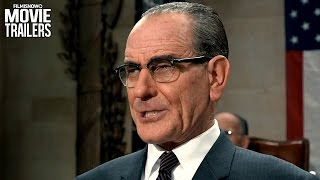 Bryan Cranston Is Lyndon B  Johnson In All The Way   Official Trailer  Hd