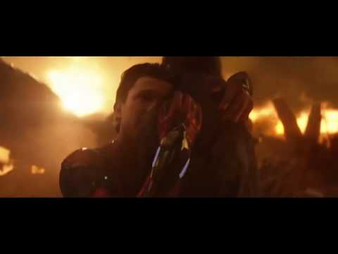 "AVENGERS INFINITY WAR ""Death Scenes"" - Ending Movie Clip HD"