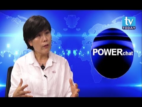 (Juja Kim in POWERchat with Laxman D. Pant - Duration: 28 minutes.)