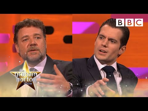 Henry Cavill and Russell Crowe on Kissing - The Graham Norton Show - Series 13 - BBC One