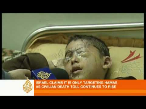 Scenes in Gaza after more Israeli raids - 11 Jan 09