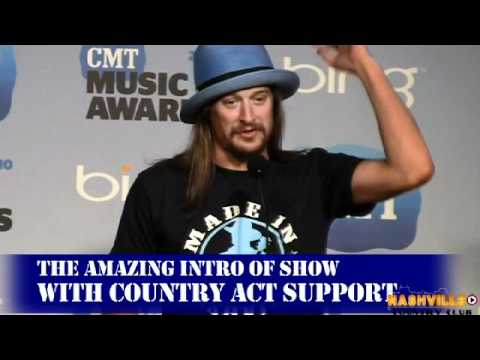 Kid Rock Interview backstage at CMT Awards