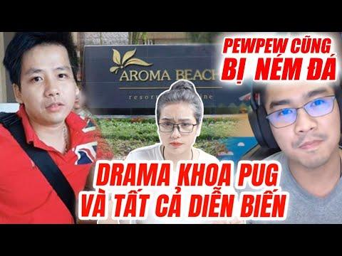 Drama Khoa Pug và tất cả diễn biến : Đến PewPew cũng bị ném đá - Hít Hà Drama - Thời lượng: 9 phút, 34 giây.