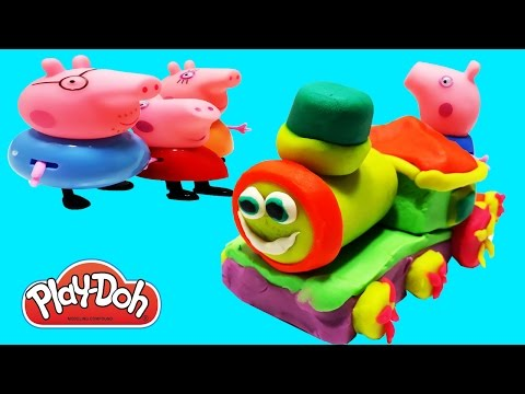 Play Doh Train We Make from  Kids TV Chanel Educational videos for children.