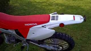 5. my new CRF250X 2009
