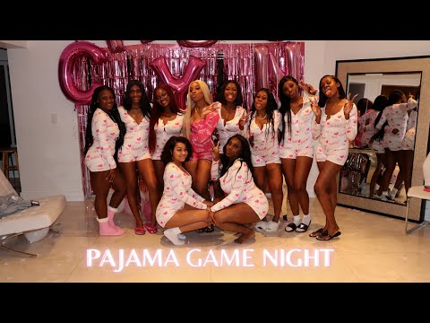 PAJAMA PARTY | Dinner & Game Night with the Girls💕