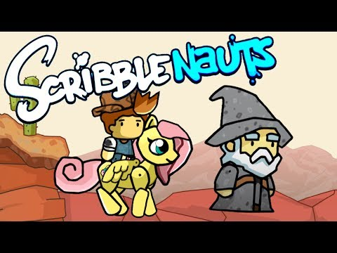 Scribblenauts Unlimited #16: JUSTIN BIEBER, FLUTTERSHY, AND GANDALF!