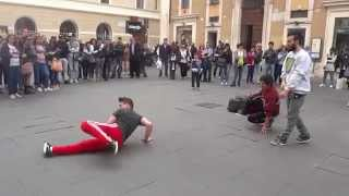 Amazing hip hop music dance, street artists video in Rome.