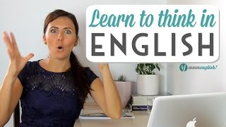 Are you translating words from your native language in your head while you are speaking English? When you do this, you a long time to speak and your English ...