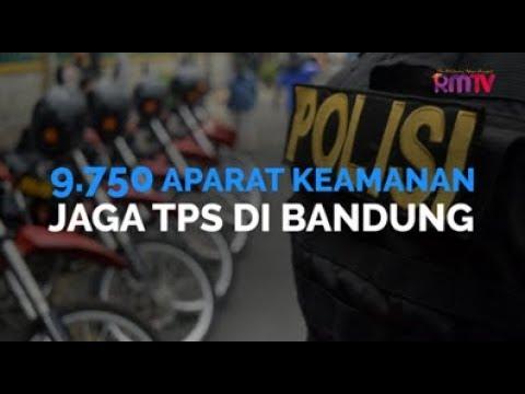 9.750 Aparat Keamanan Jaga TPS Di Bandung