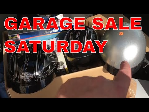 Stuff I bought at Garage Sales - golf clubs, video games, electronics, more