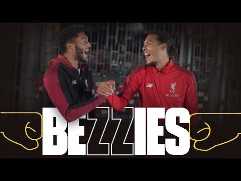 Download BEZZIES with Van Dijk & Gomez | 'Your locker is like a beauty counter'
