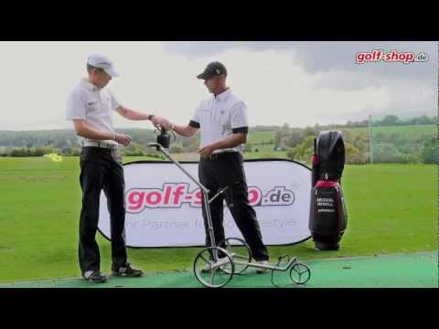 Golf- Elektrocaddy: Trolley von PG Powergolf