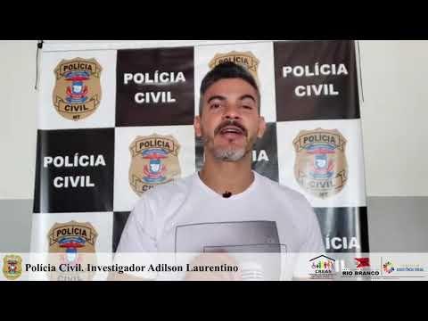Agosto Lilás, Polícia Civil, investigador Adilson Laurentino
