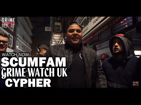 SCUMFAM   GRIME WATCH UK   CYPHER @AKNFS @KANNANSCUMFAM @therealrawkid @kingtezscumfam @kuta_1hurtdem