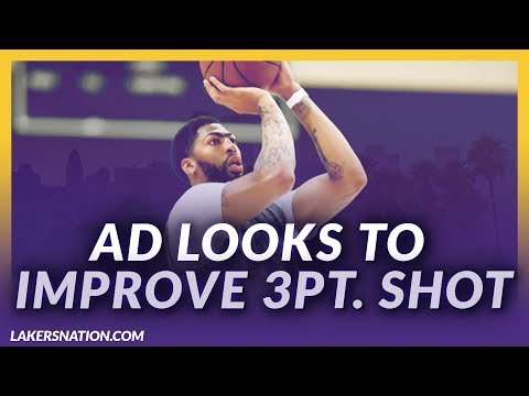 Video: Lakers News Feed: AD Focuses Heavily On 3-Point Shot This Offseason