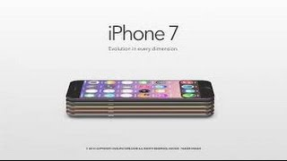 iPhone 7 Concept 2016, iPhone, Apple, iphone 7