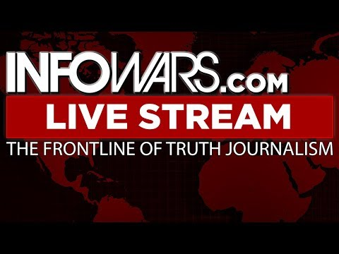 LIVE 📢 Alex Jones Infowars Stream With Today's Shows • Thursday 2/22/18 (видео)