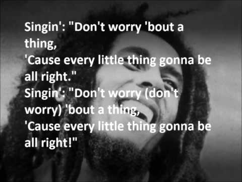 Video Bob Marley   Every Little Thing Is Gonna Be Alright LYRICS download in MP3, 3GP, MP4, WEBM, AVI, FLV January 2017