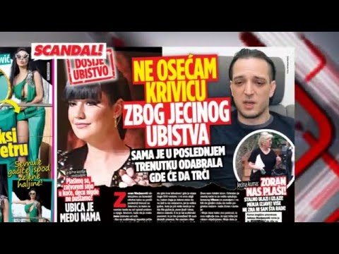SKANDAL NOVINE: Šabanova žena – Bosanac i Bekuta neće više lečiti frustracije na mom mužu – Jecin muž – Nada Topčagić laže