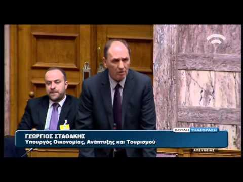 Γ. Σταθάκης: Θα χρειαστεί καιρός για το πλαίσιο λειτουργίας εταιρειών διαχείρισης δανείων
